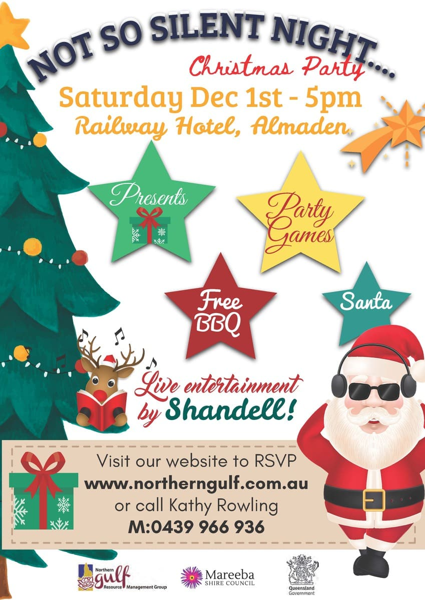 A Christmas Party.Northern Gulf Christmas Party Mareeba Shire Council