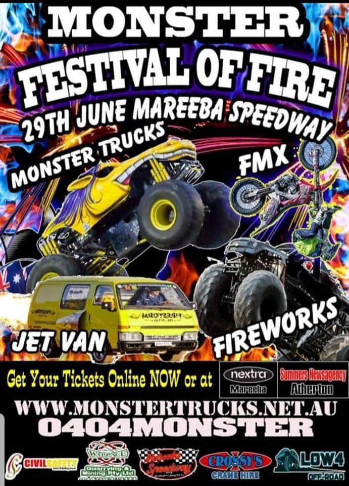 Monster Festival of Fire - Mareeba Shire Council